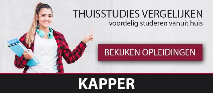 thuisstudie-cursussen-kapper