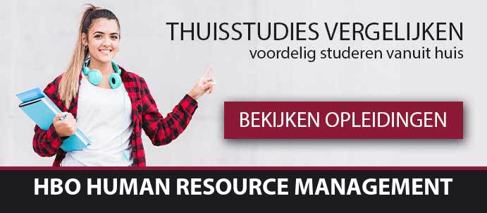 thuisstudie-hbo-human-resource-management