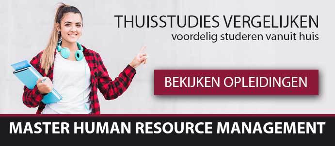 thuisstudie-master-human-resource-management